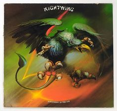 Collectors Info on Nightwing - Something in the Air LP album this and additional collector's information on on Rare Heavy and Thrash Metal vinyl record albums on this website Heather King, Gramophone Record, Stephen Stills, Rock Album Covers, Metal Albums, Heavy Metal Bands, Thrash Metal, Vinyl Siding, Nightwing