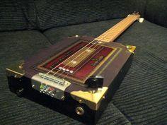 Bluesboy Jag Java4 String Electric Cigar Box Guitar