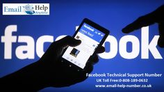 We are providing the third party instant Facebook support for all the users of UK facing hurdle in their Facebook email account.