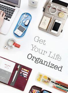 Organize Your Life on Pinterest