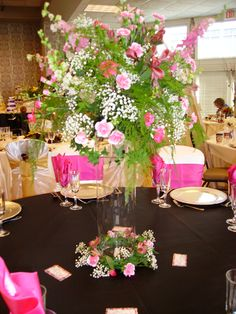 wedding centerpieces on a budget | All About Wedding: Spring Wedding Reception Table Styles