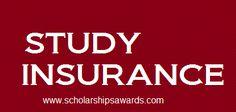 Study Insurance   Scholarships Awards