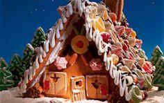 Rezept: Lebkuchenhaus backen - wie aus dem Märchen - BRIGITTE
