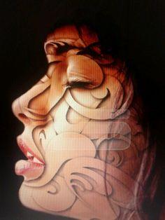 Batik on your face