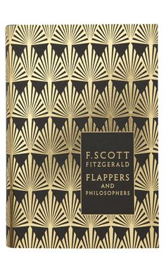 Flappers and Philosophers by F. Scott. Fitzgerald. Designed by Coralie Bickford-Smith
