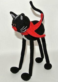 Милый котик крючком. Обсуждение на LiveInternet - Российский Сервис Онлайн-Дневников