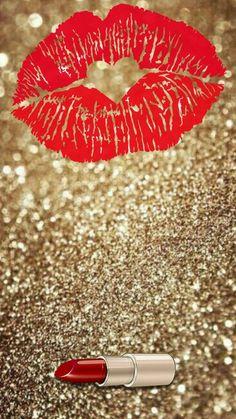 Lipstick And Glitter