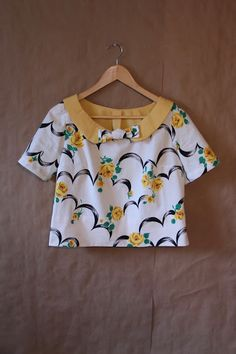 Palindrome Dry Goods: Handmade Vintage McCall's 4933 in Vintage Fabric