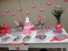Heart Party, Candy Table, Wedding Preparation, House Warming, Party Time, Real Weddings, Bridal Shower, Marriage, Birthday Parties