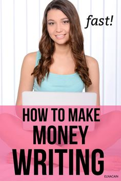 Make money writing today! How to make money writing fast and also learn how to make extra money from home this way. Work From Home Tips, Make Money From Home, Way To Make Money, Make Money Online, Online Writing Jobs, Freelance Writing Jobs, Make Money Writing, Writing Tips, Business Checks