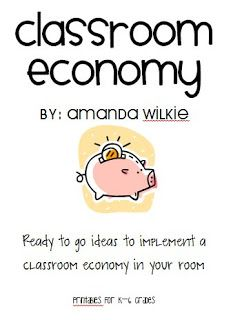 "Classroom Economy - students earn ""money"" designed by the class for good behaviour, pay ""taxes"" for skipping class rules and can use the money to buy rewards such as a free homework pass or sitting with a friend for a day - brilliant idea!! At: http://wilkieclass.blogspot.co.uk/#"