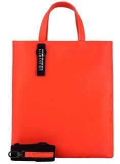 Liebeskind Damenhandtasche Glattleder Paper Bag poppy red - Bags & more