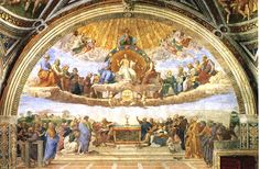 Raphael's paintings in the Vatican apartments of Julius II, the Stanze, and other Vatican works