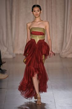 Marchesa Spring 2013 this reminds me or iron man