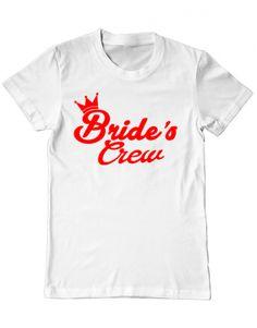 Tricou Tricou Brides crew Bride, Mens Tops, T Shirt, Design, Women, Fashion, Wedding Bride, Supreme T Shirt, Moda