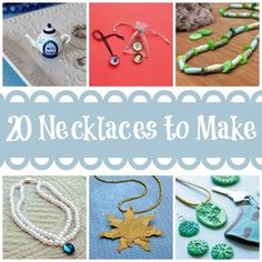 20 Necklaces Kids Can Make