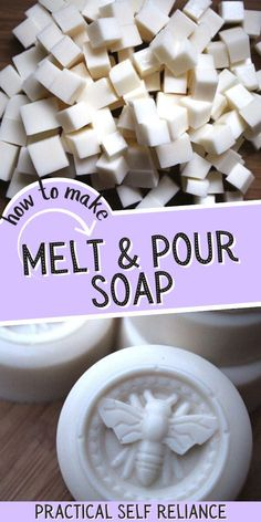 Melt and pour soap making is perfect for the beginner soap maker. Melt and pour soap is a great place to learn the art of soapmaking and without having to deal with the safety gear and fumes associated with lye. Homemade Maple Syrup, Natural Beauty Recipes, Soap Maker, Best Soap, Urban Survival, Home Made Soap, Herbal Medicine, Homemade Gifts, Thoughtful Gifts