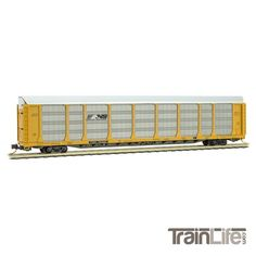 N Scale: 89' Tri-Level closed Autorack - Norfolk Southern