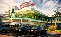The Caribbean Motel in Wildwood New Jersey. Lou Morey (1957)