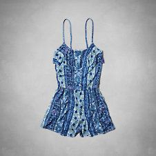 girls printed romper abercrombie kids $37.46