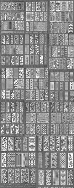 MDF treillis / fleur fenêtre Chaussure armoire mural TV magasin de vêtements percé d'écran moderne porche de style de partition gravée