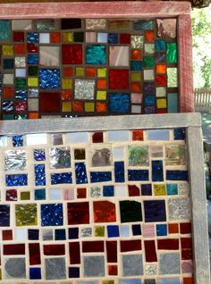Contemporary Stained Glass Mosaic Panel  Abstract by PeaceLuvGlass, $38.00