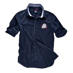 Shirt with sail details
