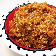 Spanish rice recipe pinterest spanish rice recipes trisha spanish rice forumfinder Image collections