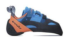 Evolv Shaman Climbing Shoe - Blue/Orange 10.5 >>> Check this awesome product by going to the link at the image.