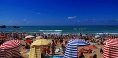 Biarritzin ranta, Ranskan Riviera.