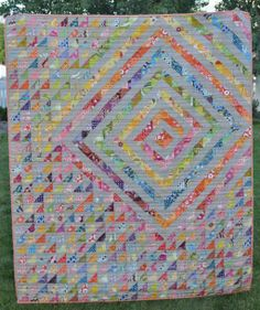 I would like to think that I would use up scraps for a quilt like this.