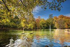 Park – Parque del Campo Grande, Valladolid (Spain) HDR by marcp_dmoz, via Flickr