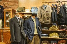 Drinkwater's, Cambridge, MA. A contemporary point of view with a firm grounding on the rules of menswear tradition.