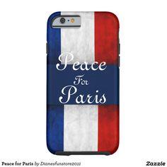 Peace for Paris Tough iPhone 6 Case