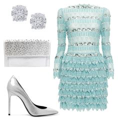 """""""Event"""" by lizzythedizzy on Polyvore featuring Ezgi Cinar, Yves Saint Laurent, Betsey Johnson and Effy Jewelry"""