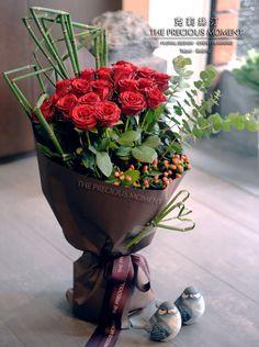 克莉絲汀花卉【七夕情人節花束】滿滿的愛