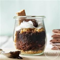 S'mores in a Jar Dessert from Pillsbury® Baking