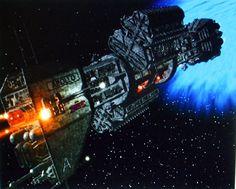 Babylon 5 ship - Apollo