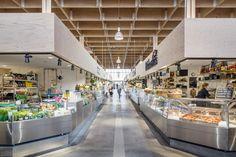 Tengbom architecture studio, Temporary Market Hall, Stockholm, Sweden, 2016