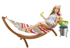 Check out the Barbie Furniture & Accessories at the official Barbie website. Explore the world of Barbie today! Hammock Accessories, Barbie Accessories, Ken Doll, Mattel Barbie, American Girl, Barbie Website, Accessoires Barbie, Barbie Summer, Barbie Playsets