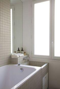 La baignoire s'impose dans la salle de bains