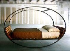 Mood Rocking Bed by Joe Manus, Shiner International
