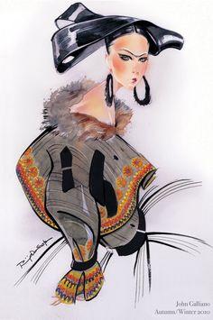 Fashion-иллюстратор Нуно ДаКоста (Nuno DaCosta)
