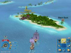 Sid Meyers Pirates Guide in PlayOnLinux