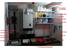 Last year I wrote about the darkroom I had set up in my loft. Since then I've moved house, so I need to build the darkroom again. This time I have a windowless utility room on the ground floor, wit...