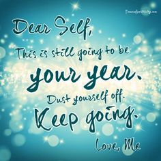 If only we gave ourself more positive self talk!