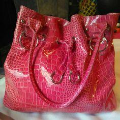 Purse Lg pink, lots of space Bags Hobos