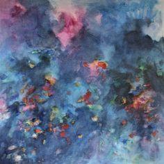 Irrsal und Wirrsal 1999 (Serie Schöpfung), Öl auf Leinwand/Holz, 90 x 90 cm