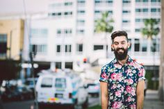 Sponsor - Beardbrand and UrbanBeardsman Photographer - Tom Cairns Styling/Barber - Omari McNeil and Hawleywoods Location - Loewes Hollywood Hotel Hollywood Hotel, Cairns, Toms, Button Down Shirt, Men Casual, Mens Tops, Fashion, Moda, Casual Male Fashion