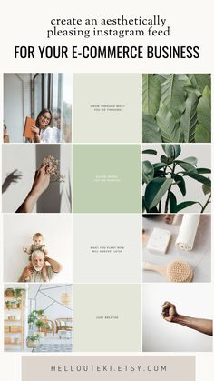 This E-commerce Instagram Kit is perfect if you want to build an aesthetically pleasing Instagram profile. For plant, nature lovers! A captivating instagram profile is one of the most important thing to build your community. We are here to help you get started! #instagramfeed #instagramkit #instagramfeedideas #instagramtemplates #minimalistfeed #plants #plantlover #plantmama #naturelover #gaialover Instagram Feed Planner, Instagram Feed Ideas Posts, Instagram Feed Layout, Instagram Grid, Instagram Design, Instagram Story Ideas, Instagram Quotes, Best Instagram Profiles, Mt Design